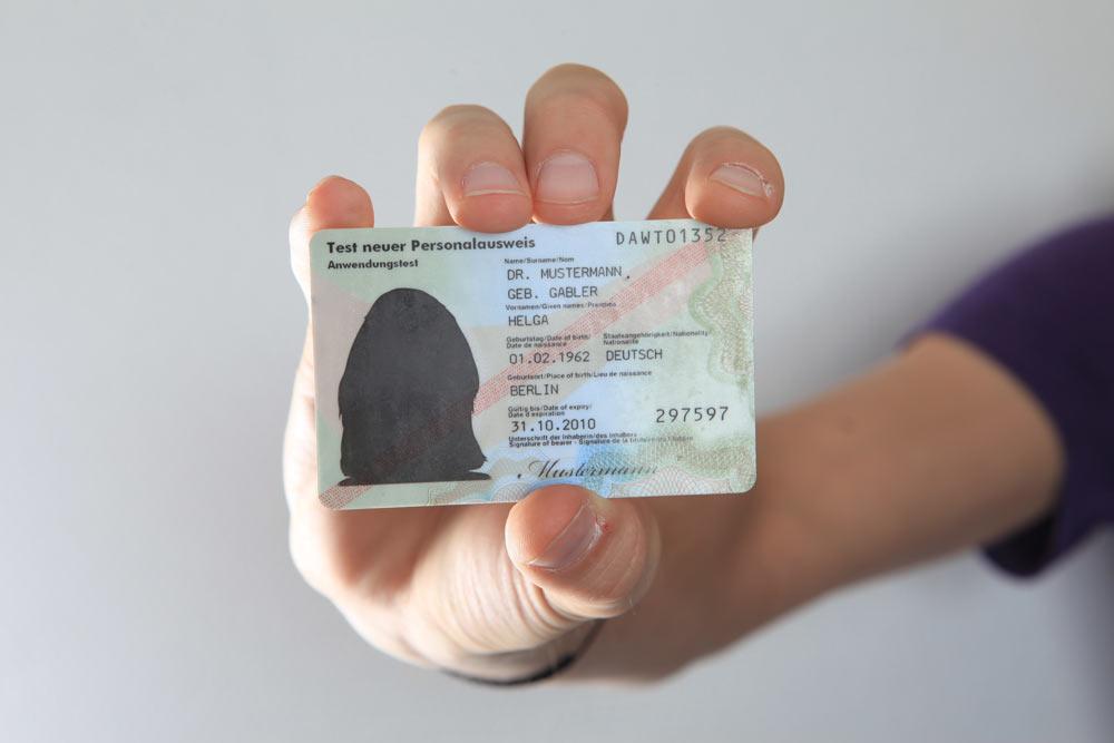 Elektronischer Personalausweis Deutschland